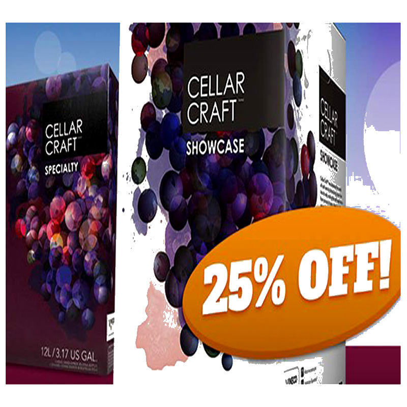 Wine home winemaking and wine for Save on crafts promo code